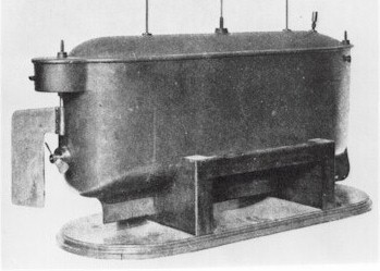 The first radio controlled guided weapon..  Read NIKOLA TESLA  GUIDED WEAPONS AND COMPUTER TECHNOLOGY to learn more about Tesla's system for secure wireless communications.